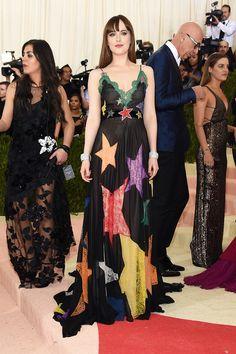 Met Gala 2016: The Best Red Carpet Looks via @WhoWhatWear | WHO: Dakota Johnson WEAR: Gucci gown