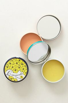 Soap & Paper Factory Lip Butter. Mmmm Limoncello?  Blood Orange?  Yes please!