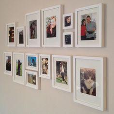 Picture wall #dreamlivingroom