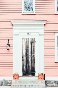 COLOR   Pink House. @thecoveteur