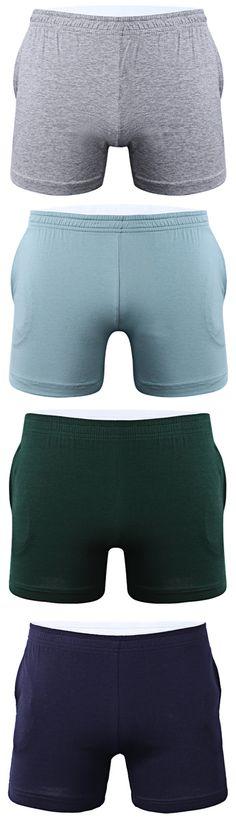 e60d29bdd9ba3 Arrow Pants Casual Sleep Antibacterial Bodybuilding Pockets Soft Underwear  for Men