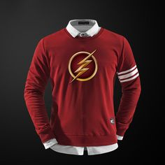Sweatshirt Apparel the flash Reverse DC | Idol Store - Geek Cloud #flashapparels #flashdccomics