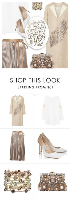"""""""Happy New Year Polyfriends!"""" by kearalachelle ❤ liked on Polyvore featuring Tory Burch, MANGO, Valentino, Jimmy Choo and Dolce&Gabbana"""