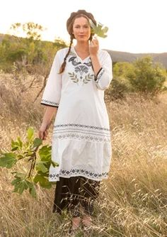 Colorful Clothing – Artsy Swedish Women's Selections Colourful Outfits, Colorful Fashion, Cotton Dresses, Cute Dresses, Swedish Women, Gudrun, Elegantes Outfit, Sustainable Clothing, Summer Outfits Women