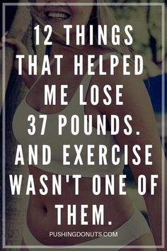 12 Best and Easy Ways To Lose Weight Fast Without Working Out - Pushing Donuts - Easy weight loss tips - Best Weight Loss Plan, Diet Plans To Lose Weight Fast, Easy Weight Loss Tips, Lose Weight In A Week, Trying To Lose Weight, Losing Weight Tips, Weight Loss Goals, Fast Weight Loss, Weight Gain