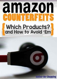 Amazon's Counterfeit List: 13 Items That'll Really Surprise You Best Money Saving Tips, Money Tips, Saving Money, Frugal Living Tips, Frugal Tips, How To Start A Blog, How To Make Money, Amazon Hacks, Show Me The Money