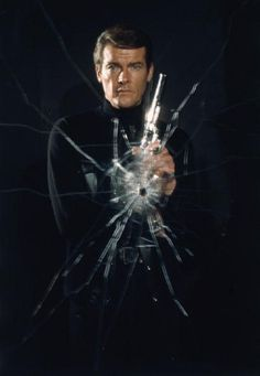 Roger Moore as superspy James Bond in 'Live and Let Die', 1973
