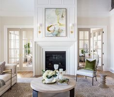 Sita Montgomery Interiors is a full service commercial and residential interior design firm servicing Salt Lake City, Utah and its' surrounding areas. Fireplace Surrounds, Fireplace Design, Modern Fireplace, Fireplace Wall, Fireplace Mantels, Style Me Pretty Living, Residential Interior Design, Sconce Lighting, Wall Spaces