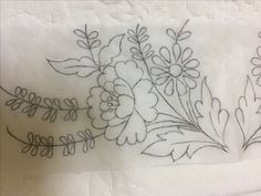 Border Embroidery Designs, Hand Embroidery Stitches, Embroidery Needles, Crewel Embroidery, Vintage Embroidery, Embroidery Techniques, Ribbon Embroidery, Floral Embroidery, Embroidery Patterns