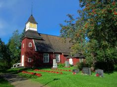 Temmes church. Liminka, Northern Ostrobothnia - Pohjois-Pohjanmaa - Norra Österbotten