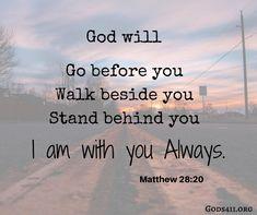 Matthew 28:20 | Bible Verses