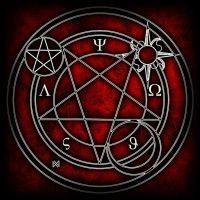 Glyphs by atethrie on DeviantArt Magic Symbols, Ancient Symbols, Circle Art, Magic Circle, Tarot, Yin Yang, Sacred Geometry, Occult, Art Prints