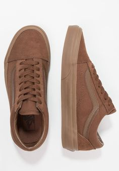 Vans UA OLD SKOOL - Sneaker low - dark earth - Zalando.de