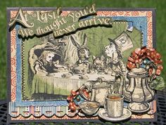 images of graphic 45 halloween in wonderland   At Last Card *New G45 Halloween…
