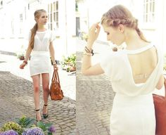 Her hair!  All white (by Rachella K.) http://lookbook.nu/look/3716445-All-white