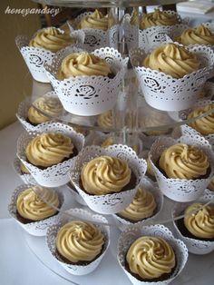 | Sticky Date Wedding Cupcakes | honeyandsoy food adventures