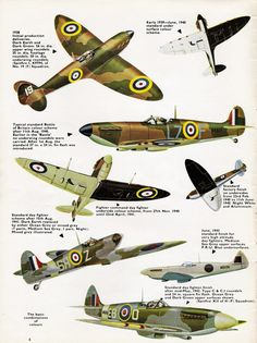 Spitfire Camouflage & Markings
