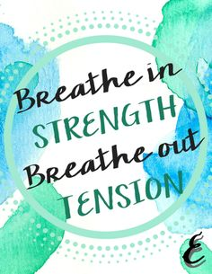 Birthing Affirmation Week 3 - Inspirational quote, printable, contractions, strength, women, power, baby, tension