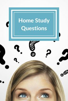 Example questions you may be asked as part of your adoption home study