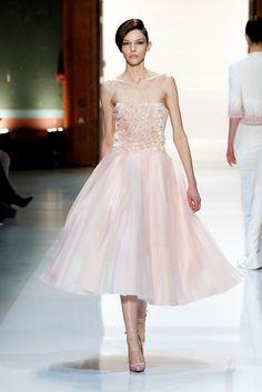 Kate Bogucharskaia at Georges Hobeika Haute Couture S/S 2014.