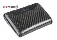 Tony Perotti Kreditkartenetui Carbon schwarz Ausleseschutz - Bags & more Aluminium, Carbon Fiber, Cards