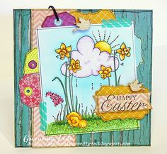 Le piccole cose di Giò: Happy Easter background by Magnolia for TSM challenge
