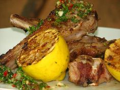 Discussing marinating spare ribs and lamb chops. Everything from sweet & sticky pork spare ribs to lemon and rosemary lamb chops. Rosemary Lamb Chops, Lamb Marinade, Anchovy Recipes, Veal Chop, Sticky Pork, Salsa Verde Recipe, Lamb Ribs, Grilled Lamb, Recipe 30