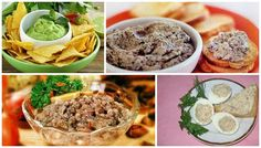 These are great ideas to make your appetizer delicious and unusual!