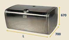 Алюминиевый топливный бак SCANIA