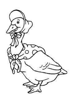 Dessin de canard siffleur au feutre et aquarelle le bestiaire pinterest - Canard dessin facile ...