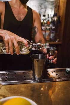 Urban Outfitters - Blog - On The Menu: Cocktails with Blind Barber