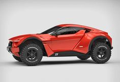 Directly from the UAE comes the impressive Zarooq Sand Racer, the latest design of Anthony Jannarelly, the creator of the supercar Lykan Hypersport. The Zarooq Sand Racer is . Carros Off Road, Offroader, Buggy, Car Wheels, Car Brands, Amazing Cars, Hot Cars, Bugatti, Concept Cars