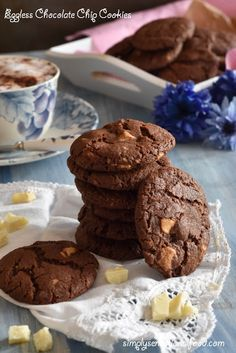 simply.food: Eggless Chocolate Chip Cookies ~A tribute to Isabe...