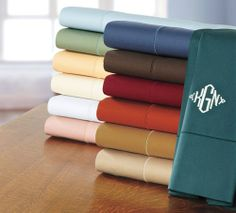 500 Thread Count Italian Cotton Percale Bedding  from Cuddledown on Catalog Spree, my personal digital mall.