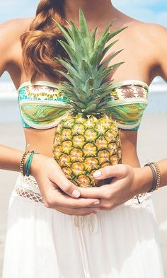 Summer Fun  Tropical Vibes, Pineapples & Palms Repinned By www.livewildbefree.com