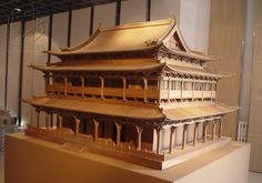 Asian Architecture, Wooden Architecture, Ancient Architecture, Pagoda Temple, Japanese Buildings, Wooden Art, House Roof, Japanese Design, Traditional House