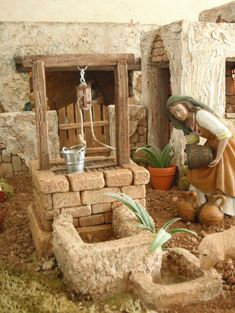 emilio m belenista Fontanini Nativity, Diy Nativity, Christmas Nativity Scene, Christmas Villages, Christmas Crib Ideas, Christmas Design, Christmas Themes, Christmas Diy, Christmas Decorations