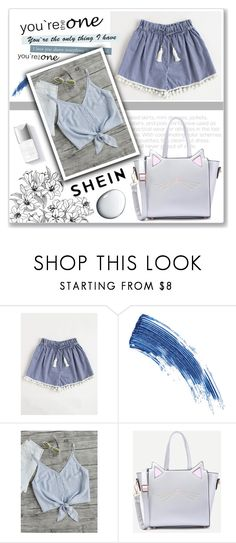 """SheIn 1/V"" by mery66 ❤ liked on Polyvore featuring Eyeko, Couture Colour and Clé de Peau Beauté"