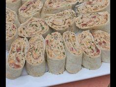 Easy Mexican Chicken Salad Wraps- Pinwheels