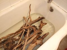 How to clean driftwood