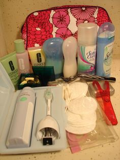 How to Pack: Toiletries
