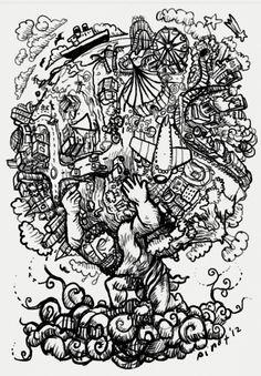 Illustration Friday: Carry