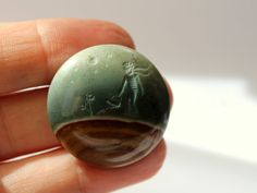 Hand-carved intaglio  The Little Prince  on by DetelinaCameo