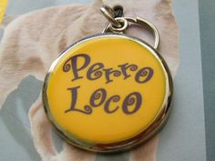 WOOF!~ ✰ Perro Loco ✰ Crazy Dog en Español ✰ DOG Tags with Attitude! ✰ BNIP! Auction ends in a week! Not on Listia yet? Get 1,000 free credits to bid with, PLUS an extra 250 from me by using this link: https://www.listia.com/signup/1164302 (Click on this first, sign up, then bid on auction with those credits!) Just like eB*y, but with credits, not cash. You can be like me and get ALL of the items you win for FREE, all the time! #Dog #Pets #Crazy #Puppy #Listia #Spanish #Auction #FREE