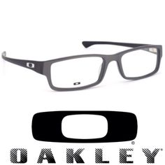 72e44ae6aeb Oakley Accessories - Oakley Servo XL Satin Steel Eyeglasses