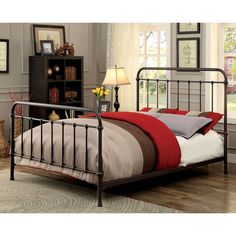 Furniture of America Norielle Metal Platform Bed $300
