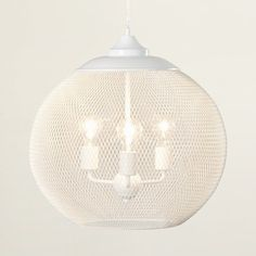 3-Light Globe Pendant