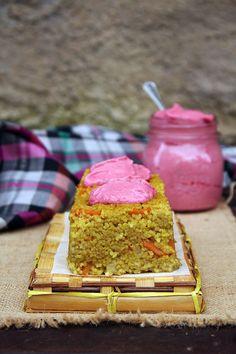 Sugarless: Tortino di miglio e maionese di barbabietola