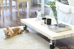 Happy days: The coffeetable
