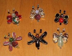 Beaded bugs by craftapalooza, via Flickr